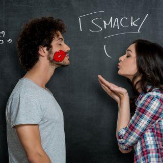 Bacio, 4 reazioni del corpo