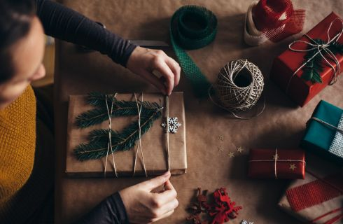 Regali di Natale: come fare una confezione originale