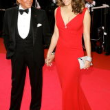 Valentino con Elizabeth Hurley