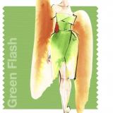 Green Flash, bozzetto di Angel Sanchez