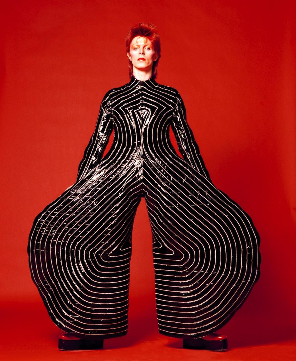 David Bowie: i look del Duca Bianco