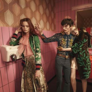 Gucci fa tappa a Berlino per la campagna Primavera estate