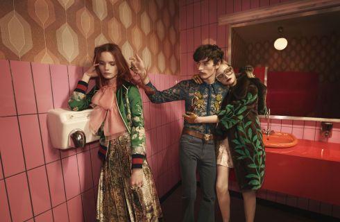 Gucci fa tappa a Berlino per la campagna Primavera estate 2016