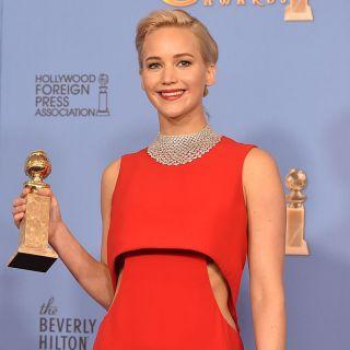 Golden Globes: Jennifer Lawrence reginetta di stile