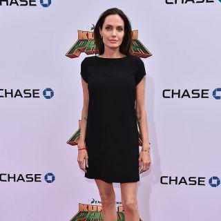Angelina Jolie sempre più magra alla prima di Kung Fu Panda