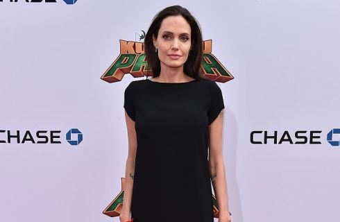 Angelina Jolie sempre più magra alla prima di Kung Fu Panda 3