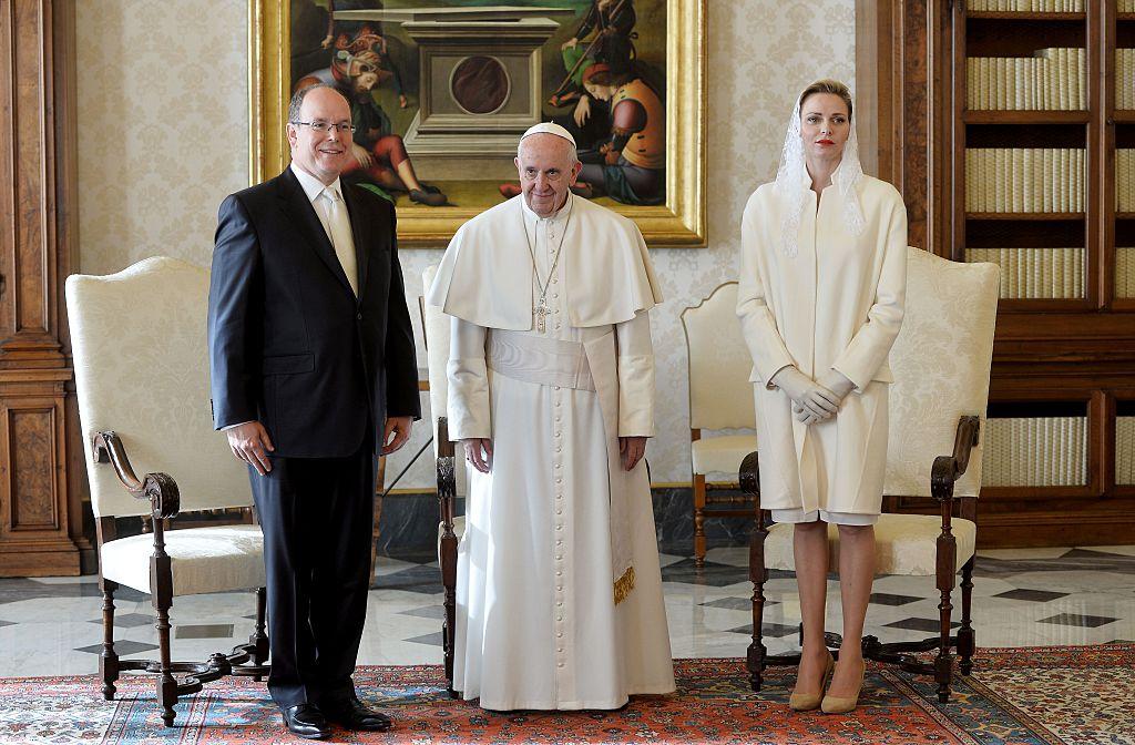 VATICAN-POPE-MONACO-DIPLOMACY