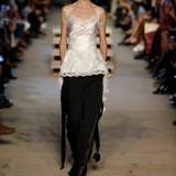 Pantalone in cady stretch con fasce di raso, Givenchy