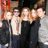 Orlando Bloom, Stella McCartney, Amber Heard, Johnny Depp, Lily-Rose Melody Depp