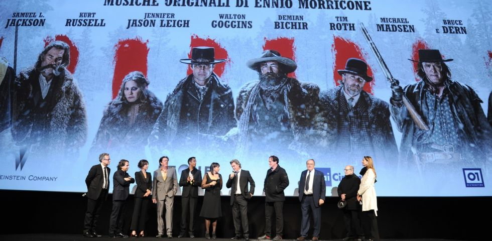 The Hateful Eight: 5 momenti più belli della Premieré