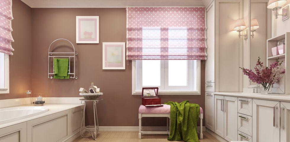 Tende per finestra bagno design casa creativa e mobili - Tende per bagno classico ...