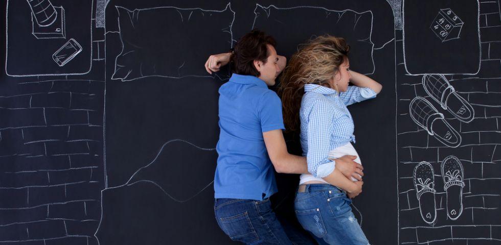 Dormire in gravidanza: errori e posizioni corrette - DireDonna