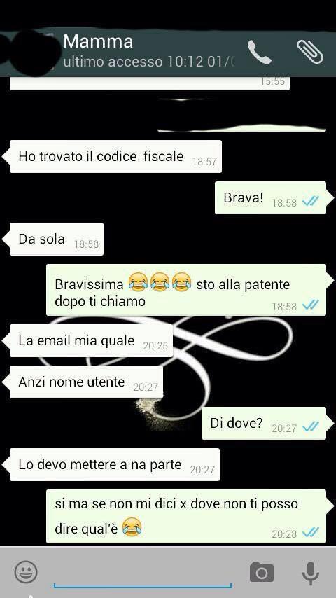 Le mamme su WhatsApp