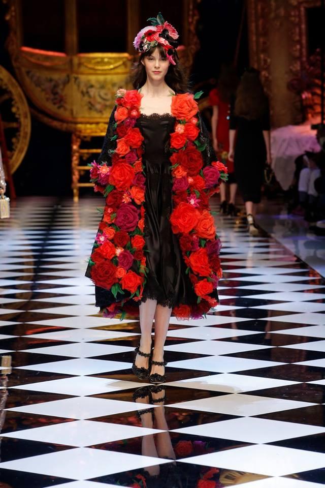 Dolce & Gabbana, i look Autunno Inverno 2016 2017