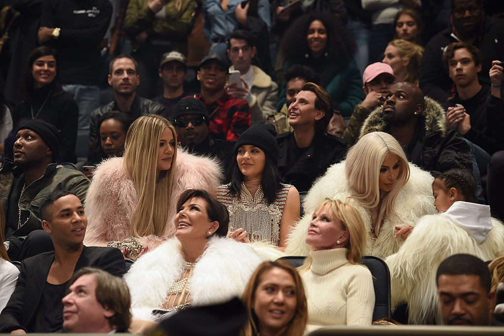 Kanye West la sfilata autunno inverno 2016 a New York