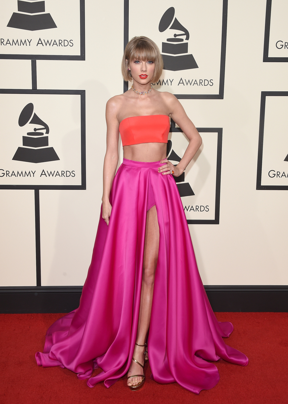 Grammy Awards: il red carpet da Taylor Swift a Lady Gaga