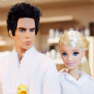 Zoolander incontra Barbie e scattano i selfie con la Magnum
