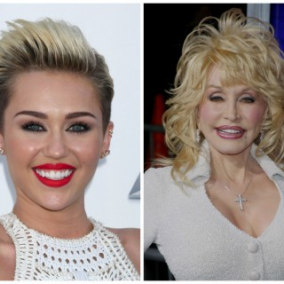 Miley Cyrus diventa Dolly Parton