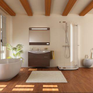 Arredare il bagno con il legno: soluzioni, pro e contro