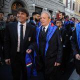 Antonio Conte, Carlo Tavecchio, Ermanno e Toni Scervino