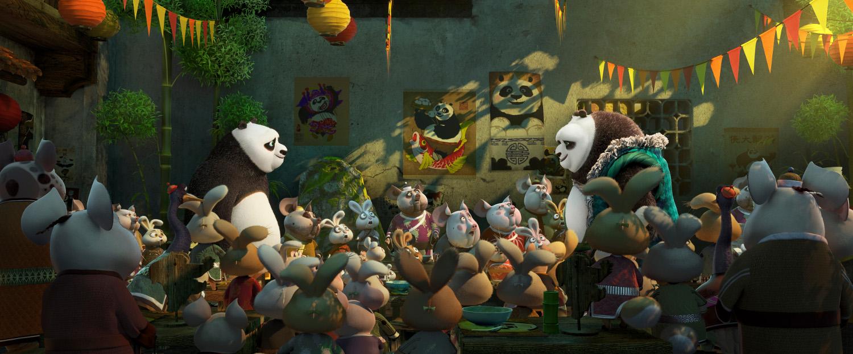 Kung Fu Panda 3: le immagini del film