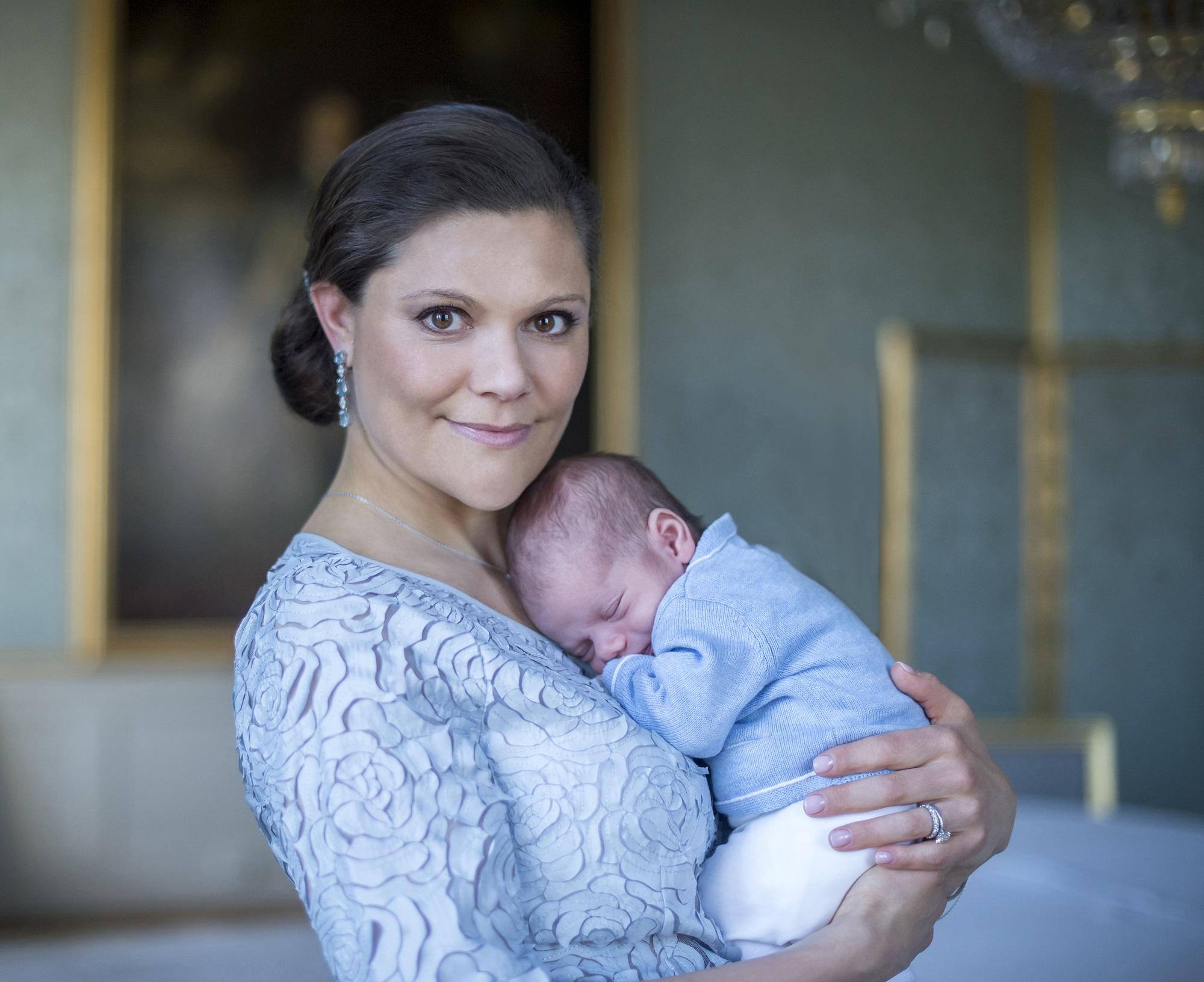 Principessa Victoria di Svezia, Principe Oscar