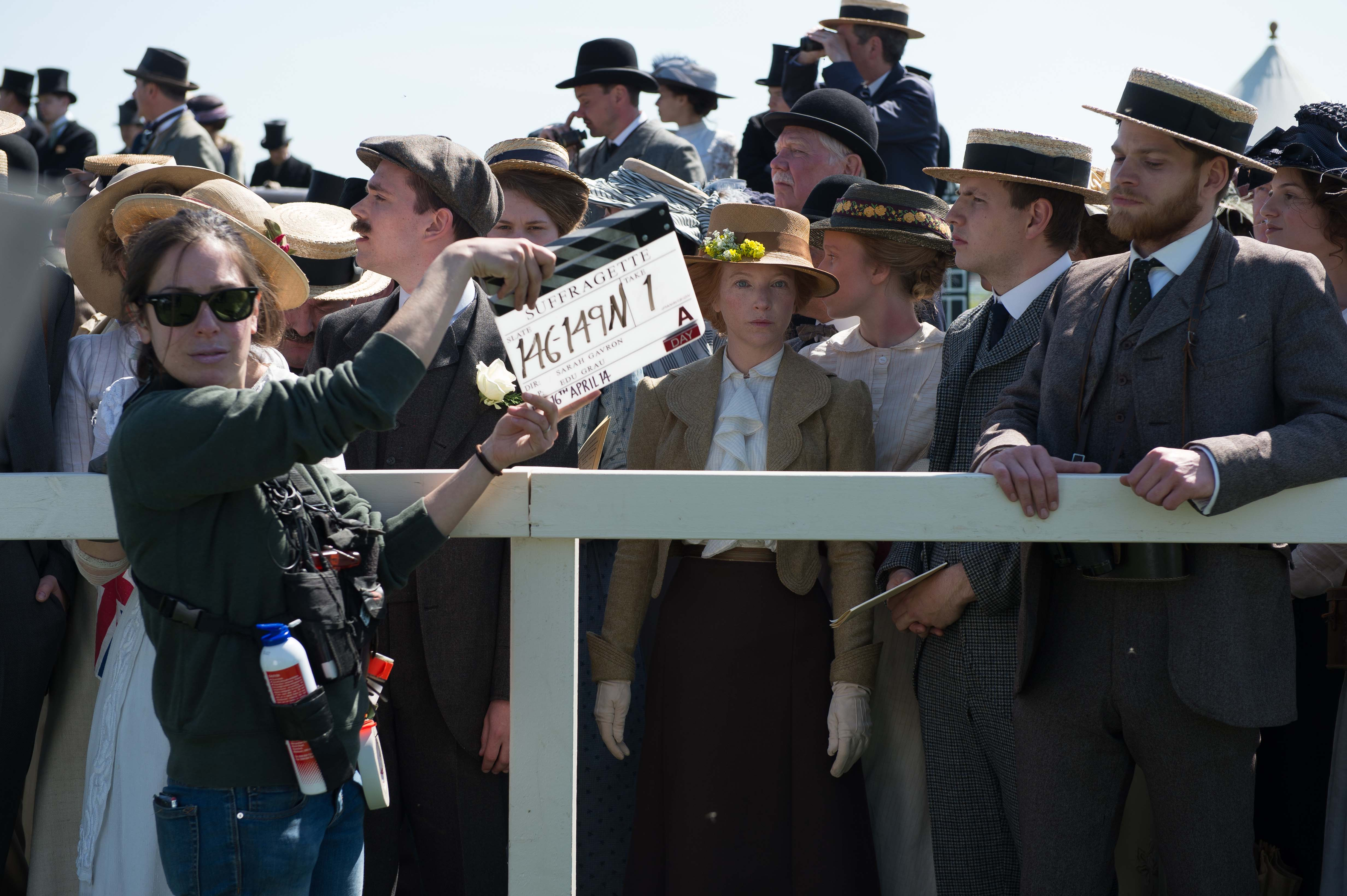 Suffragette, le foto