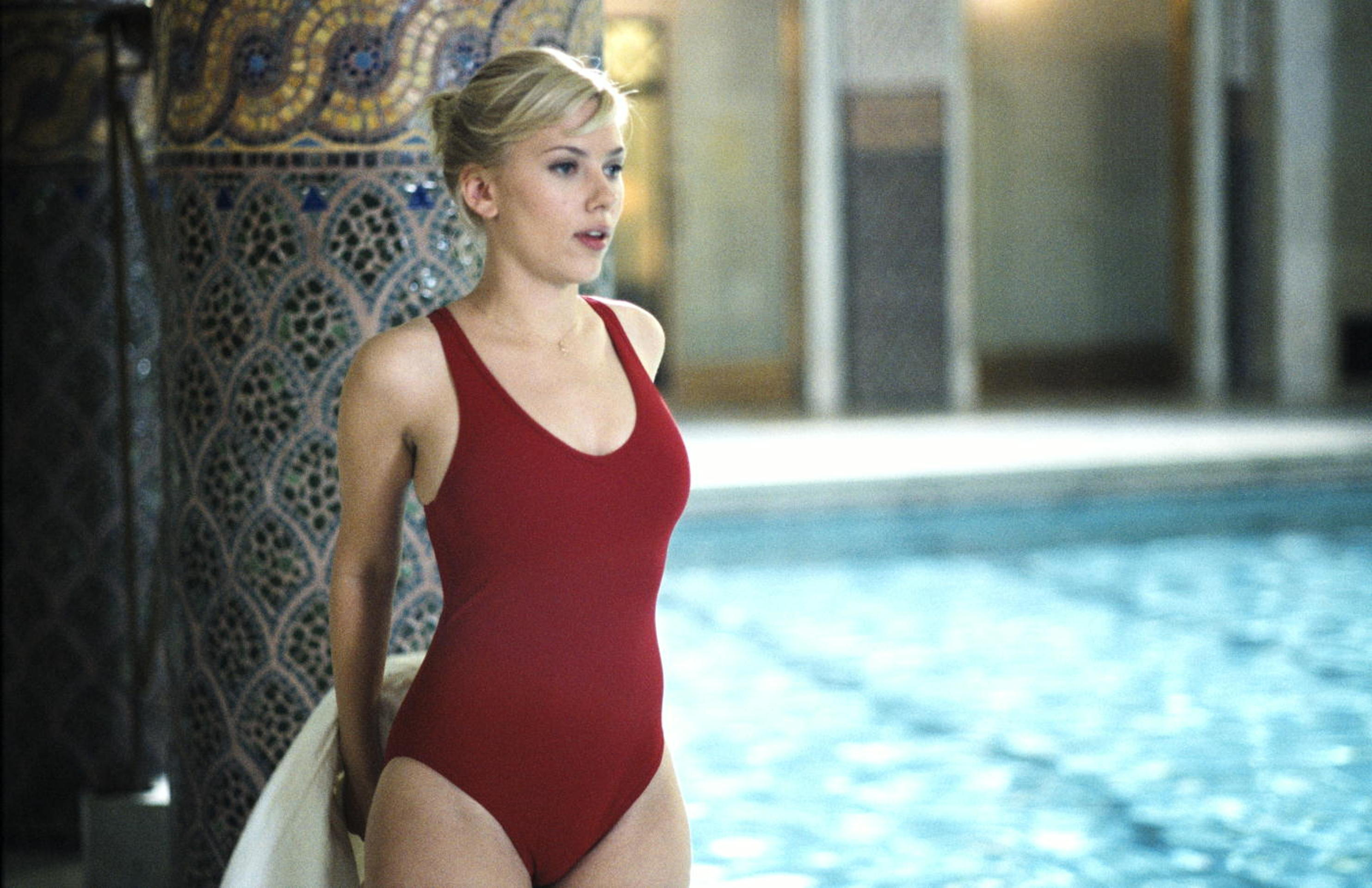 Scarlett Johansson, sexy icona di Hollywood