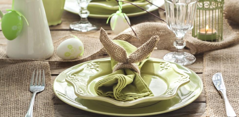Come apparecchiare la tavola a pasqua diredonna - Decori pasquali per la casa ...