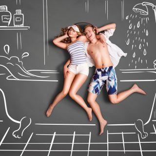 5 soluzioni salva spazio per l'arredo bagno