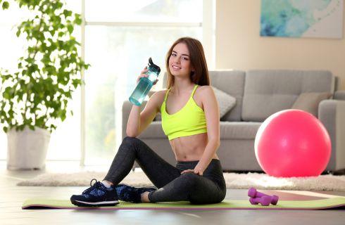 Pancia piatta in un mese: allenamento e dieta
