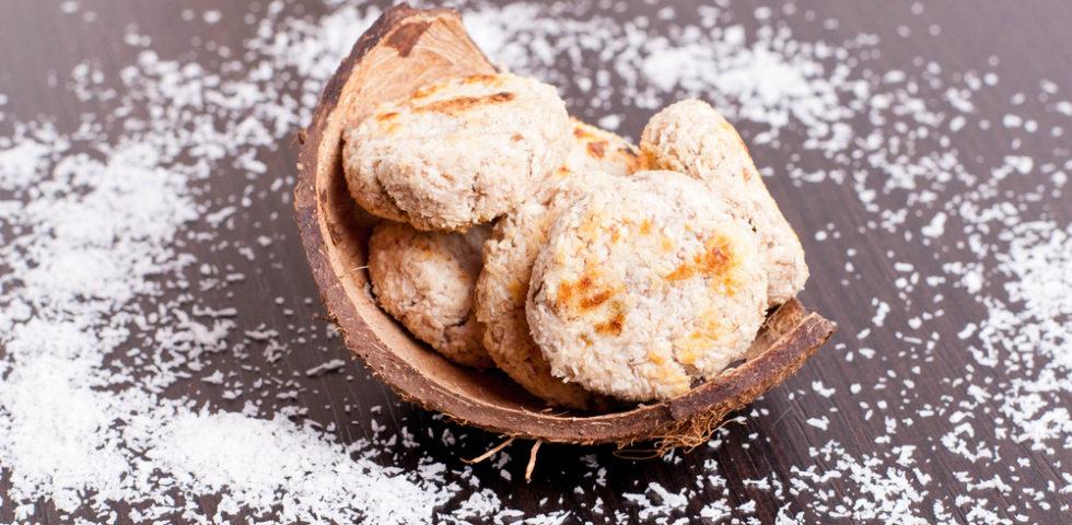 Biscotti vegani al cocco: ricetta light