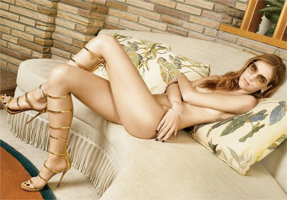 Chiara Ferragni nuda: le foto su Vanity Fair USA