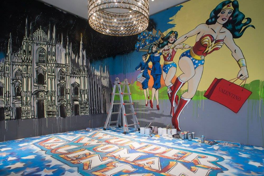 Valentino: la capsule dedicata a Wonder Woman
