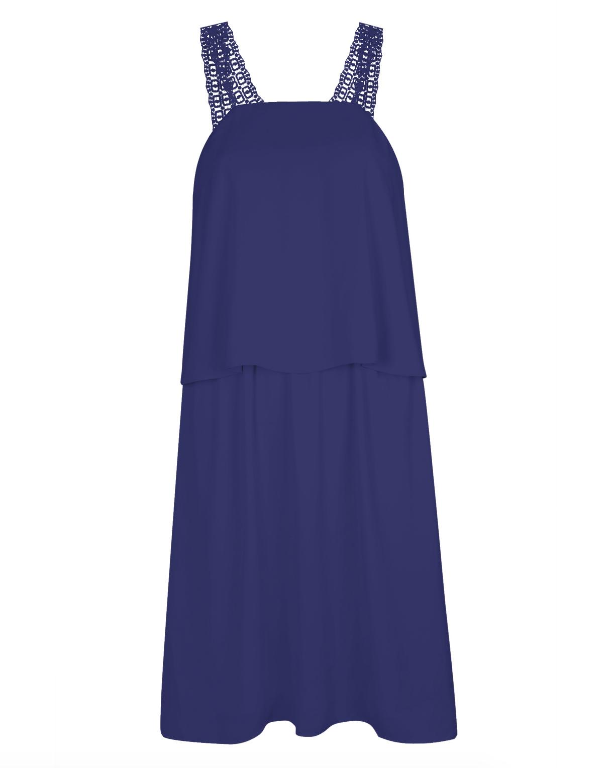 Vestito blu elettrico: cosa abbinare