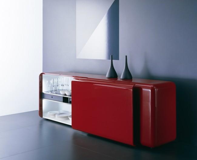 Credenza Moderna Rossa : Credenze moderne per soggiorno u2013 idea dimmagine di decorazione