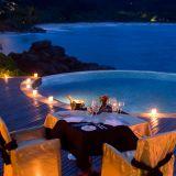 Banyan Tree Seychelles  la cena Sea & Stars