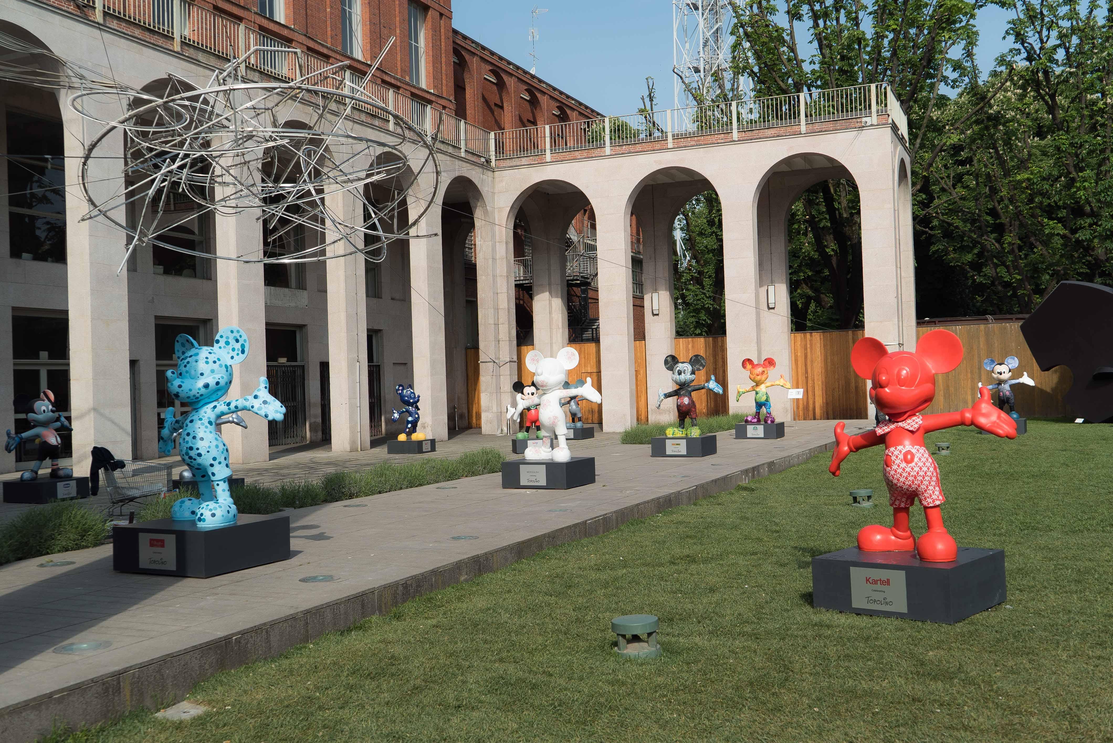 Topolino e l'Italia in mostra a Milano, le foto