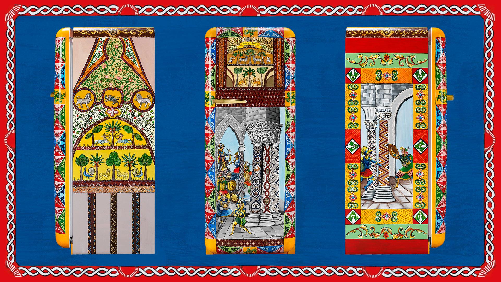 Dolce & Gabbana: i frigoriferi d'arte realizzati per Smeg