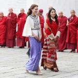 Kate Middleton e la principessa  HM Jetsun Pema Wangchuck