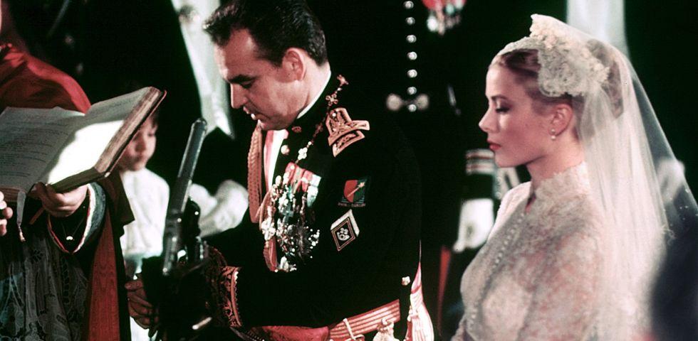 Matrimonio Principe Harry : Grace kelly e principe ranieri anni fa il matrimonio