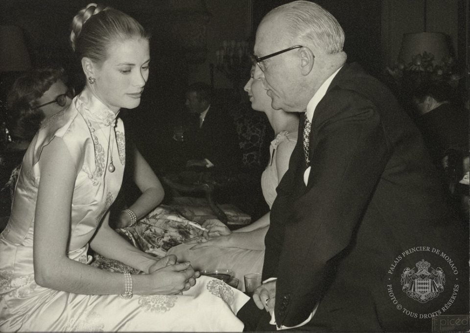 Grace Kelly e il Principe Ranieri, le foto private