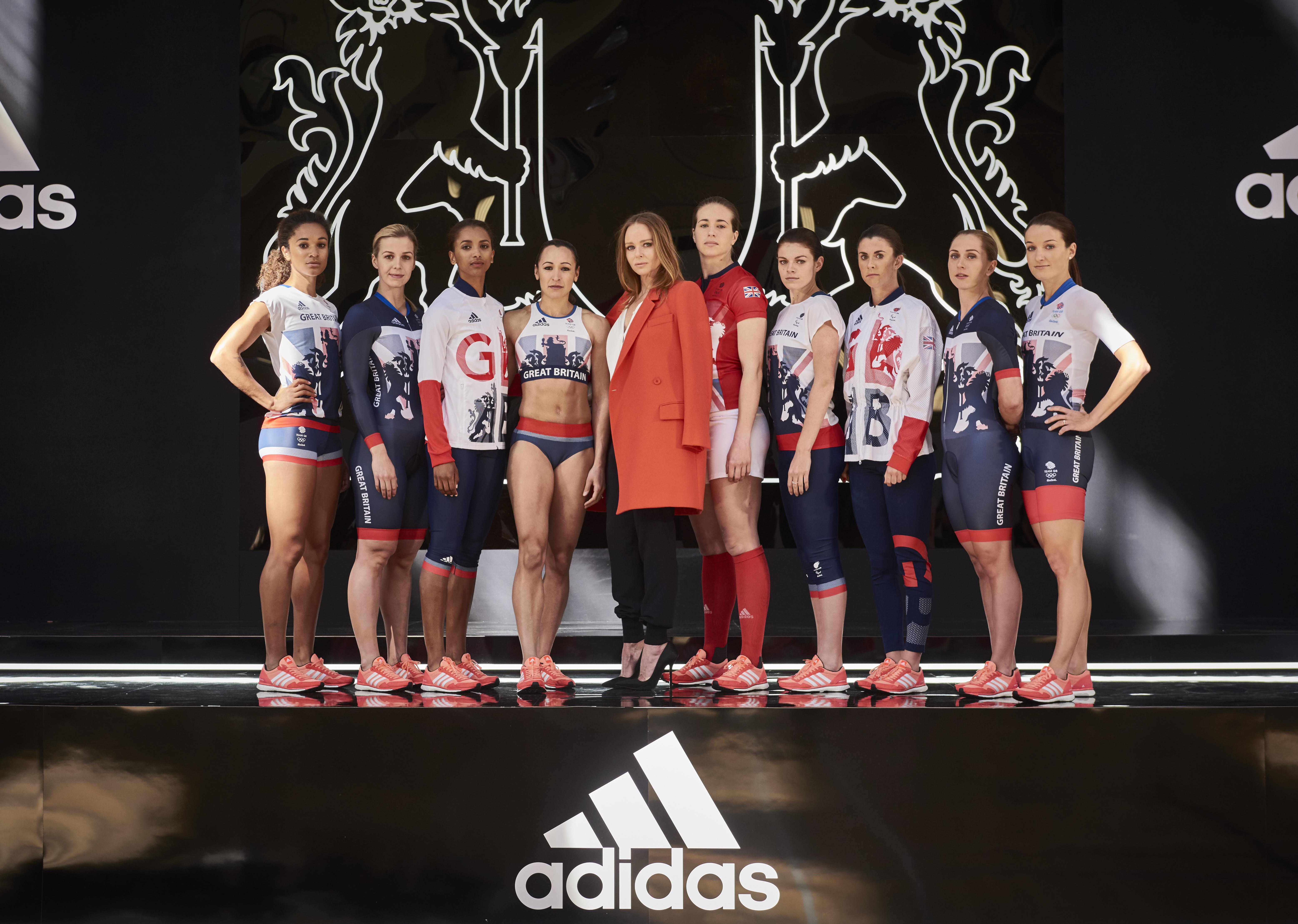 Adidas e Stella McCartney, la collezione per i Giochi Olimpici 2016
