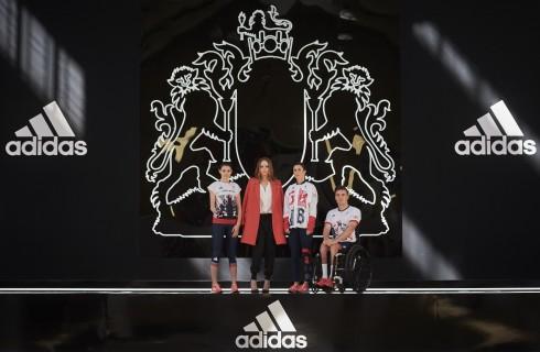 Adidas e Stella McCartney firmano le divise del Team Olimpico Inglese