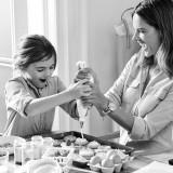 Alessandra Ambrosio e la figlia Anja per Michael Kors