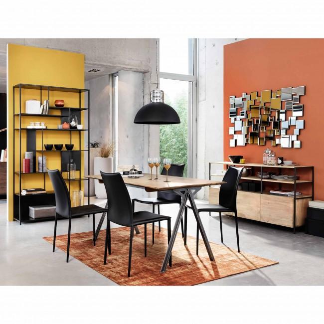 credenze moderne le proposte per il soggiorno diredonna. Black Bedroom Furniture Sets. Home Design Ideas