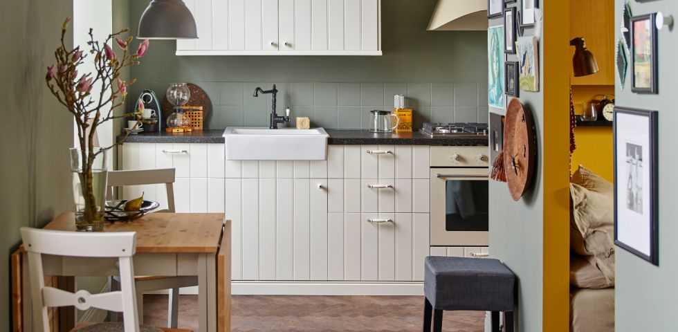 Piastrelle cucina 8 abbinamenti per pavimenti e rivestimenti diredonna - Piastrelle cucina bianche ...