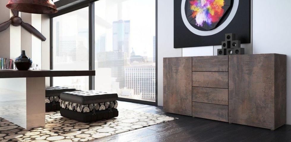 Credenze moderne le pi belle per il soggiorno diredonna for Maison du monde credenze basse