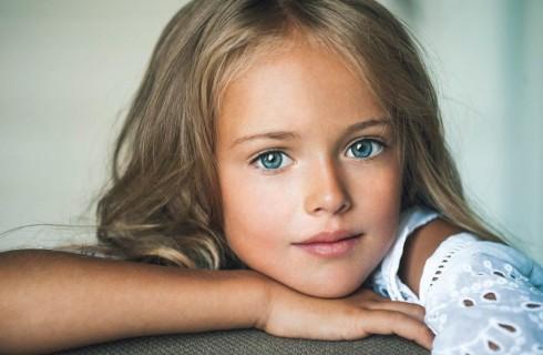 Kristina: baby modella a soli 9 anni