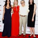 Penelope Cruz, Scarlett Johansson, Woody Allen e Rebecca Hall